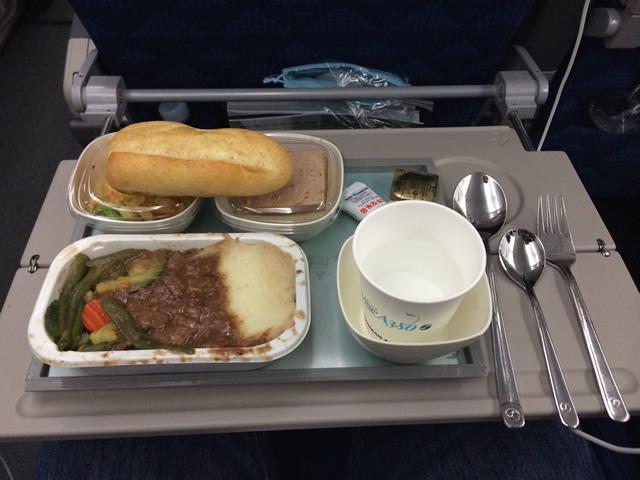 A380-Korean-Refeicao2-Jantar