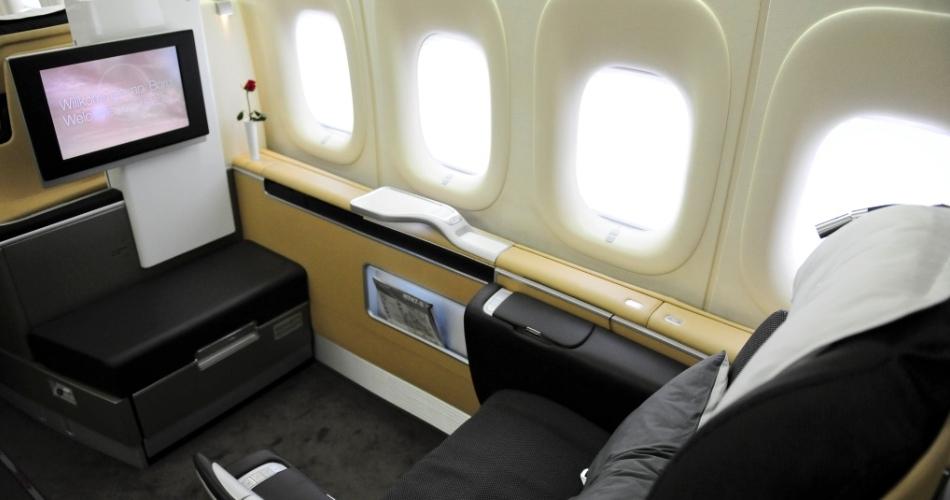 Primeira Classe Boeing 747-800