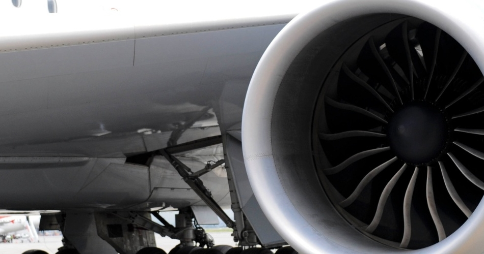 Turbina do Boeing 747-800